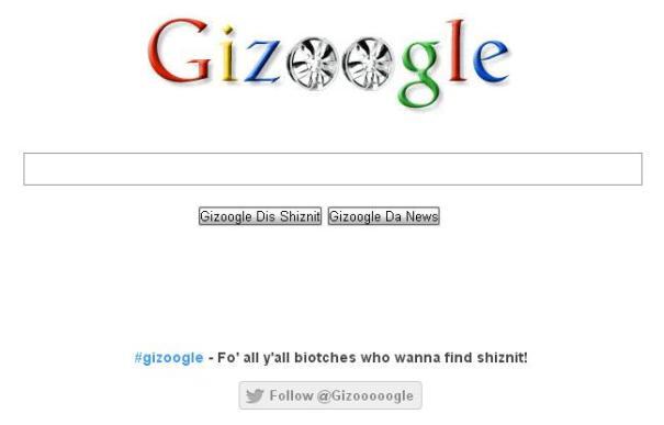 gizoogle-frontpage